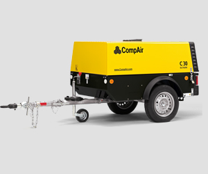 C20 - C30 Compair Portable Air Compressor