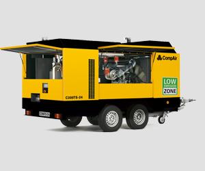 C200TS-24 - C270TS-9 TurboScew Compair Portable Air Compressor