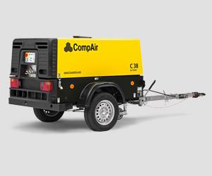 C35-10 - C50 Compair Portable Air Compressor