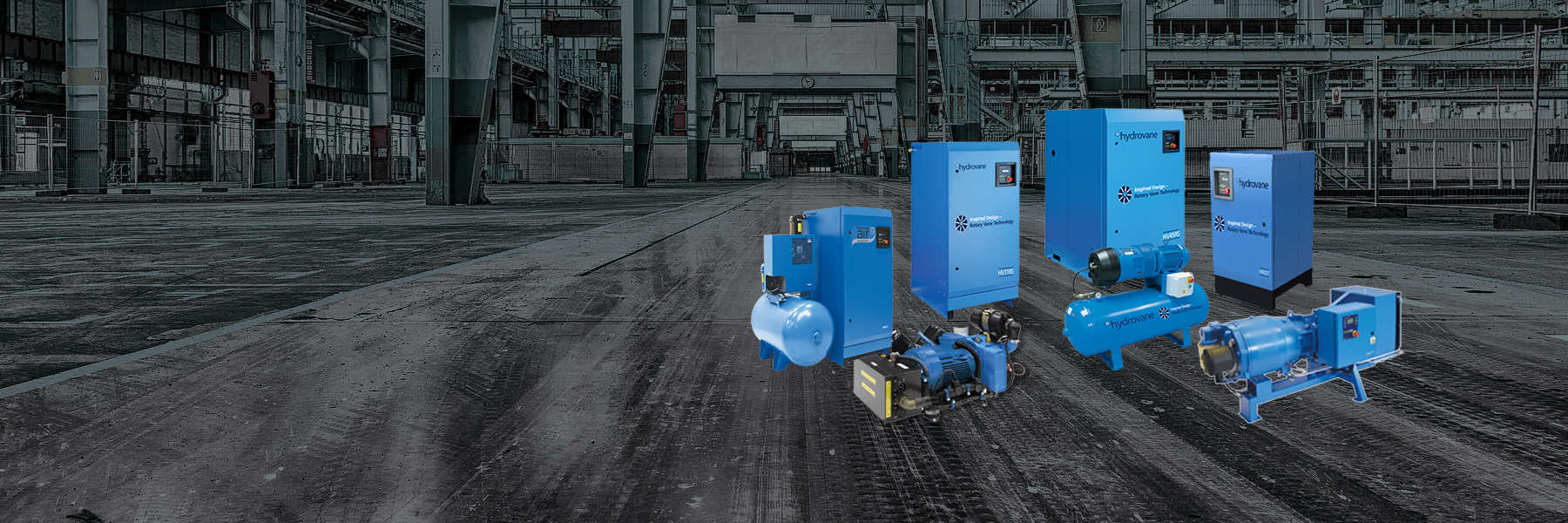 Hydrovane Air Compressors Factory-Rotary-Vane